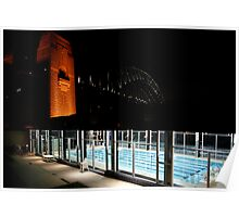 Pool Deck. Poster
