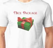 Nice Package Christmas Present Unisex T-Shirt