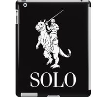 SOLO wht by Tai's Tees iPad Case/Skin