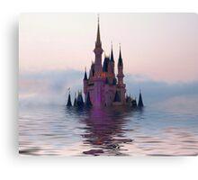 Sinking Castle Canvas Print