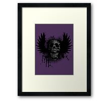 Screaming for grunge Framed Print