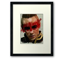 Red Bandit Framed Print