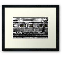 Everything that you do, it was all yellow. Framed Print