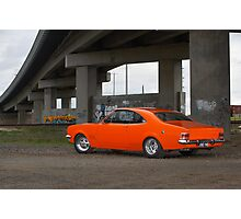 Orange Holden HG Monaro Photographic Print