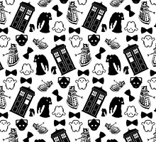 DOCTOR WHO PRINT by drawingsbyhm