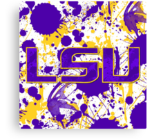 Geaux Tigers! Canvas Print
