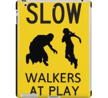 Zombies / Walkers At Play iPad Case/Skin