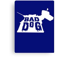 Bad Dog 3 Canvas Print