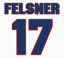 National Hockey player Denny Felsner jersey 17 by imsport