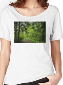 Country path  Women's Relaxed Fit T-Shirt