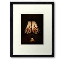Touch Lamp Framed Print