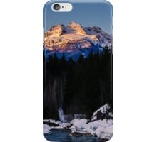 Winter wonderland sunrise iPhone Case/Skin