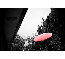 Where I keep my umbrella Photographic Print