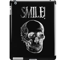 Smile! - White iPad Case/Skin