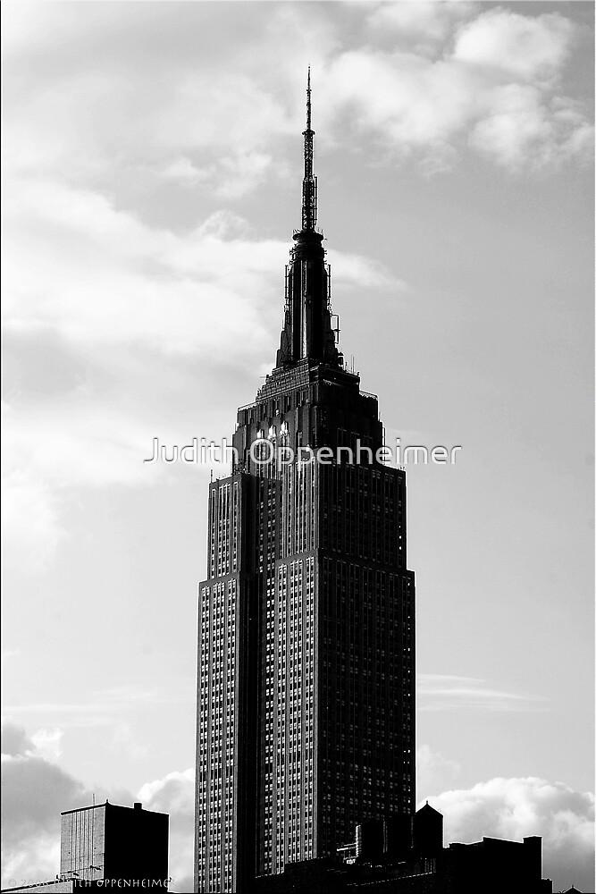 Sundown Empire State Building by Judith Oppenheimer