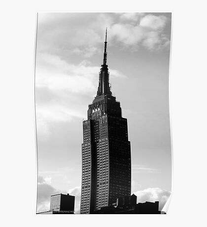 Sundown Empire State Building Poster