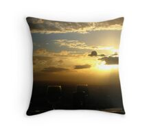 Drinking With The Sun Throw Pillow