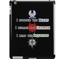 The Hero of Dragon Age iPad Case/Skin