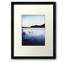 cool dusk Framed Print