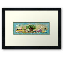 Animal Kingdom Framed Print
