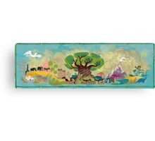 Animal Kingdom Canvas Print