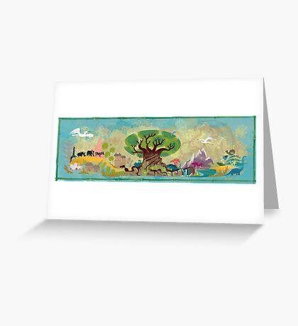 Animal Kingdom Greeting Card