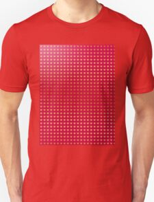 Gold hearts on pink T-Shirt