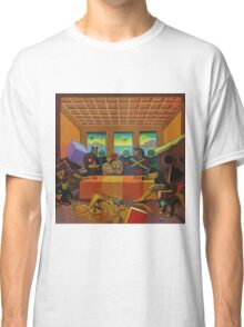 """Collective Farm Lyrics 4""  Classic T-Shirt"