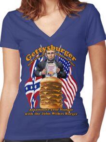 Gettysburger Women's Fitted V-Neck T-Shirt