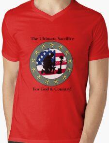 God & Coundtry Mens V-Neck T-Shirt