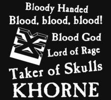Khorne, the Blood God by Huertense
