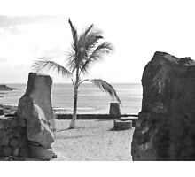 Playa Bastian Photographic Print