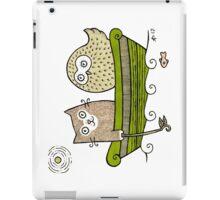 Pea Green Boat iPad Case/Skin