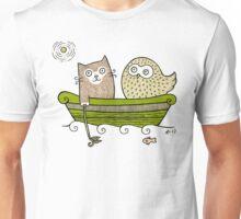 Pea Green Boat Unisex T-Shirt