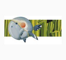 Gray Parrot Kids Clothes
