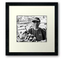 johnnie Framed Print