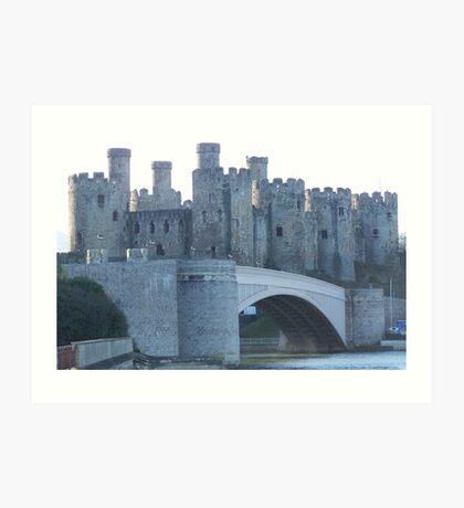 Conwy castle.  Art Print