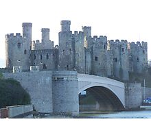 Conwy castle.  Photographic Print
