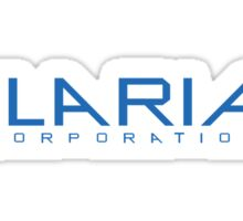 Helix - Ilaria Corporation - Blue Sticker