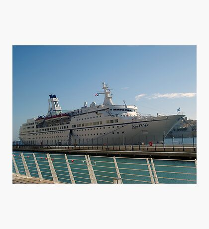 The cruise liner Photographic Print
