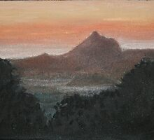 Mt Warning by Glenda Jones