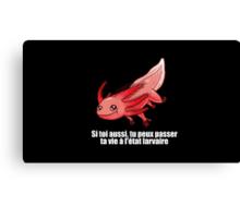 Point Culture : Axolotl Canvas Print
