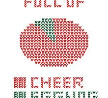 Pie Chart Ugly Sweater Design by Chris Lysy
