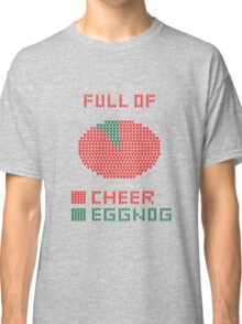 Pie Chart Ugly Sweater Design Classic T-Shirt
