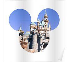 Disneyland Castle Mickey Poster