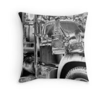 Mack Diesel Antique Throw Pillow
