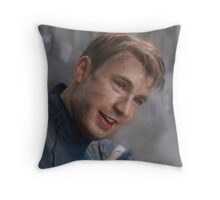 Smiling Captain Throw Pillow