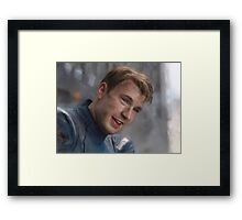 Smiling Captain Framed Print