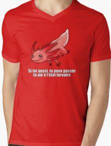 Point Culture : Axolotl Mens V-Neck T-Shirt