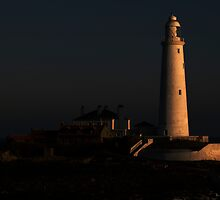 St Mary's Lighthouse by Alan Rodmell